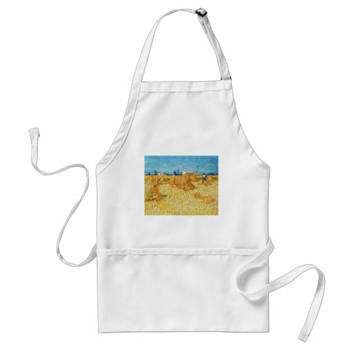 Van Gogh; Harvest in Provence Aprons