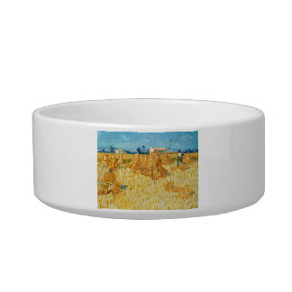 Van Gogh; Harvest in Provence Pet Water Bowl