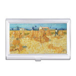 Van Gogh; Harvest in Provence Business Card Holders