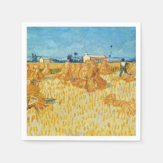 Van Gogh Harvest in Provence Disposable Napkin
