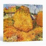 Van Gogh; Haystacks en Provence, granja del vintag
