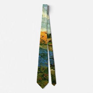 Van Gogh Haystacks Under a Rainy Sky, FineArt Tie