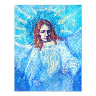 Van Gogh Head of an Angel Invitations