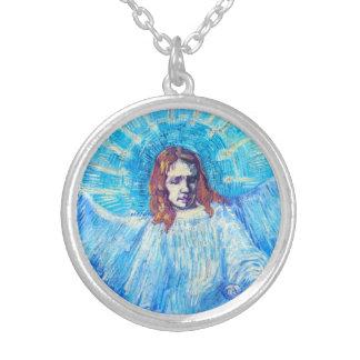 Van Gogh Head of an Angel Necklace