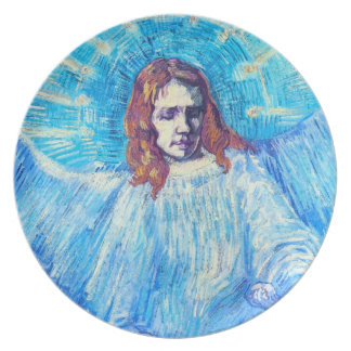Van Gogh Head of an Angel Plate