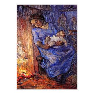 Van Gogh, hombre está en el mar, arte del Invitación 12,7 X 17,8 Cm