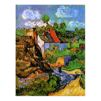 Van Gogh Houses in Auvers (F805) Fine Art Post Card