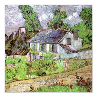 Van Gogh Houses in Auvers, Vintage Fine Art Card