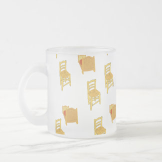 Van Gogh Illustration 10 Oz Frosted Glass Coffee Mug