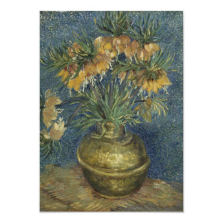 Van Gogh - Imperial Fritillaries in a Copper Vase Card