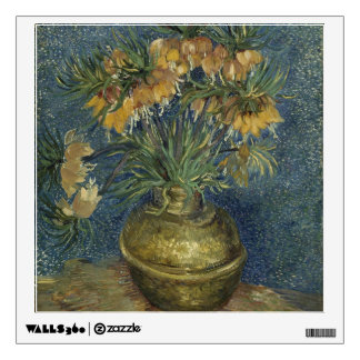Van Gogh - Imperial Fritillaries in a Copper Vase Wall Sticker