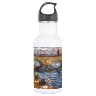 Van Gogh Impressionist Painter Vintage Art Water Bottle