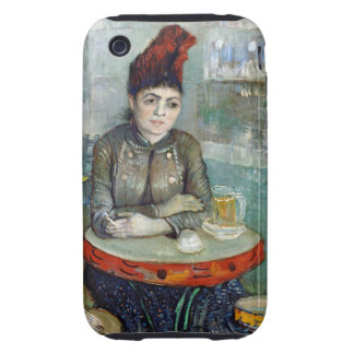 Van Gogh In The Cafe iPhone 3 Tough Case