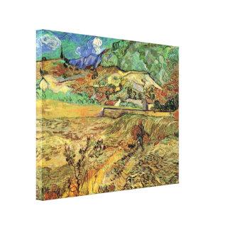 Van Gogh incluyó el campo de trigo y la bella arte
