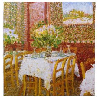 Van Gogh: Interior de un restaurante Servilletas De Papel
