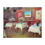 Van Gogh - Interior Of A Restaurant Canvas Print