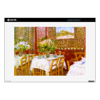 Van Gogh: Interior of a Restaurant Decal For Laptop