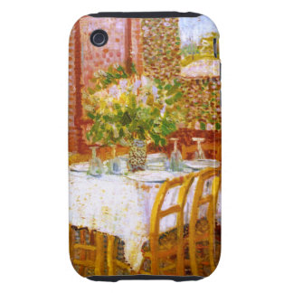 Van Gogh: Interior of a Restaurant iPhone 3 Tough Case
