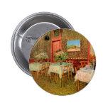 Van Gogh; Interior of a Restaurant, Vintage Art Pins