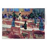 Van Gogh - Interior Of Restaurant Carrel In Arles Greeting Cards