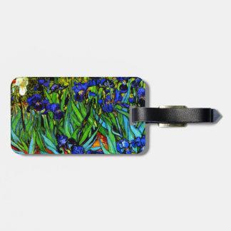 Van Gogh - iris, 1889 Etiquetas Para Maletas