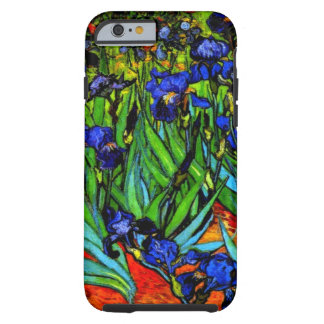 Van Gogh - iris, 1889 Funda De iPhone 6 Tough