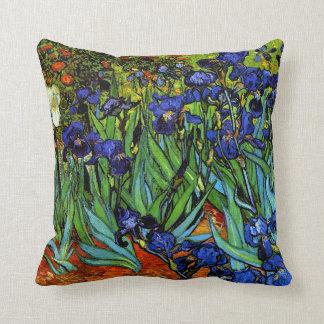 Van Gogh - iris, 1889, ilustraciones Cojin