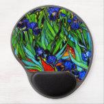 Van Gogh - iris Alfombrilla De Raton Con Gel