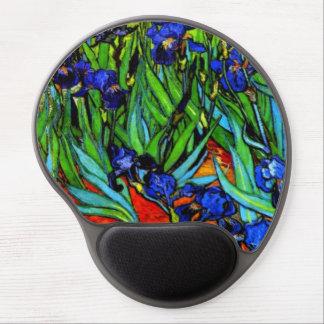Van Gogh - iris Alfombrillas De Ratón Con Gel
