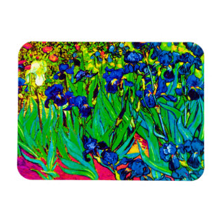Van Gogh - iris del arte pop Imán Flexible