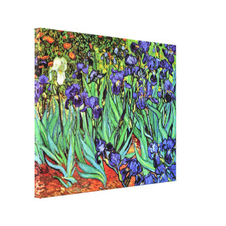 Van Gogh - iris Impresiones En Lona