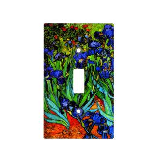 Van Gogh - iris, pintura de Vincent van Gogh Placa Para Interruptor