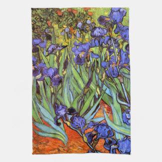 Van Gogh: Iris Toallas De Cocina