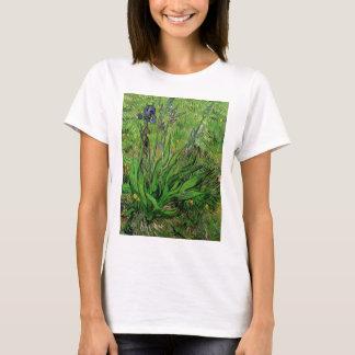 Van Gogh Iris, Vintage Garden Fine Art Flowers T-Shirt