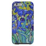 Van Gogh irisa 1889 Funda Para iPhone 6 Tough