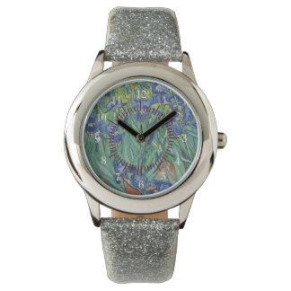 Van Gogh irisa destino de la naturaleza del amor Reloj