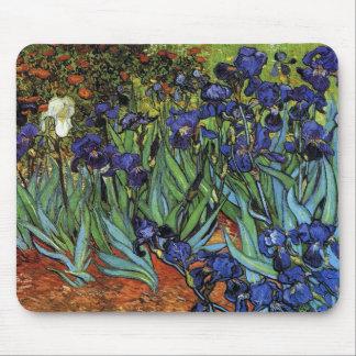 Van Gogh irisa el cojín de ratón Alfombrilla De Ratones