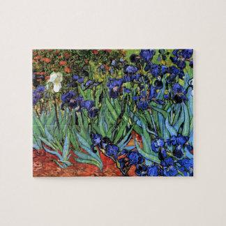 Van Gogh irisa la bella arte del vintage (F608) Rompecabeza