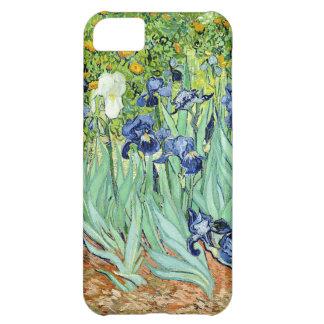 Van Gogh irisa la caja del teléfono del detalle Funda Para iPhone 5C