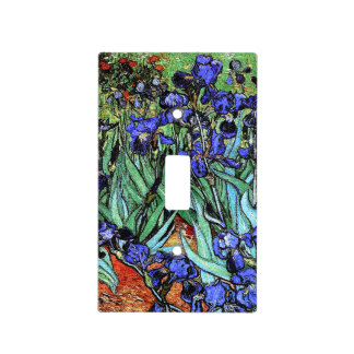Van Gogh irisa la cubierta de interruptor de la Placa Para Interruptor