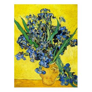 Van Gogh irisa la postal