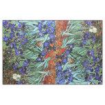 Van Gogh irisa la tela floral de las flores Telas