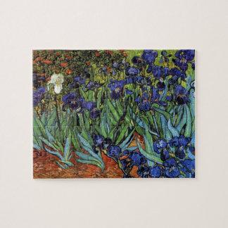 Van Gogh irisa rompecabezas
