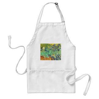 van Gogh - Irises (1889) Aprons