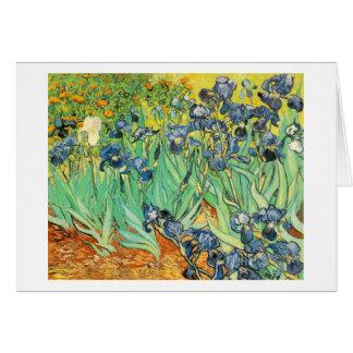 van Gogh - Irises (1889) Card