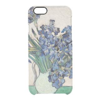 Van Gogh Irises 1890 GalleryHD Uncommon Clearly™ Deflector iPhone 6 Case