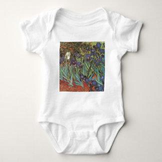 Van Gogh Irises Baby Bodysuit