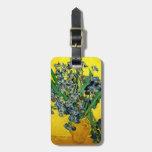 Van Gogh: Irises Bag Tags