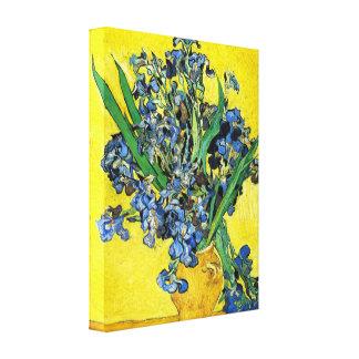Van Gogh Irises Canvas Print