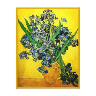 Van Gogh: Irises Canvas Print